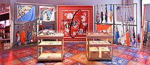 At the Hermès Carré Club, the Silk Scarf Becomes an Artist's Canvas